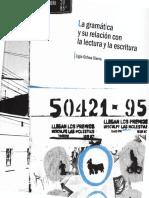 Ochoa-La Gramática y Su Relación Con La Lectura y La Escritura