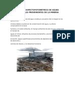 ANALISIS ESPECTOFOTOMETRICO DE AGUAS RESIDUALES PROVENIENTES DE LA MINERIA.docx