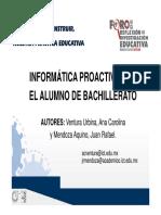 5 Informatica Proactiva Aos Bach - ACventura, JR Mendoza Bach