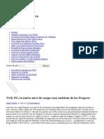 TGK PG, La Nueva Nave de Carga Rusa Sustituta de Las Progress