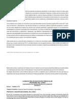 Planificacion Curso Acercamiento a Las CN en Preescolar
