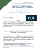Una Propuesta Didactica Para Ensenanza Conceptos Estructurantes Discontinuidad Materia y Union