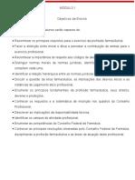 Deontologia e Legislação Farmaceutica - 01