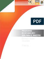 Planeaciones Secudaria 2011