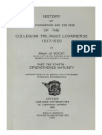 Humanistica Lovaniensia Vol. 13, 1955_HISTORY OF THE FOUNDATION AND THE RISE OF THE COLLEGIUM TRILINGUE LOVANIENSE 1517-1550_PART OF THE FOURTH_STRENGTHENED MATURITY.pdf