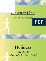 Ch 1 Called to Holiness