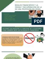 A.f. Los Escándalos Financieros y La Auditoría (Annie, Ale, Karen)