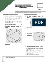 Examen Mensual de Geometría 3ero de Sec - III Bimestre