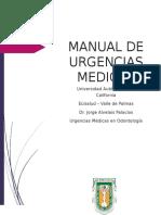 Manual Urgencias en odontologia