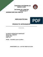 PROYECTO DE MERCADOTECNIA SALIENTE AL MERCADO LABORAL