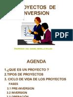 Clase Proyectos Inversion