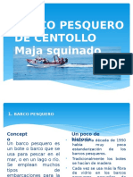 Barco Pesquero de Centollo