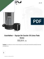 Grainfather - Equipo de Cocción 30 Litros Todo Grano