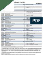 Curriculum 2016-2017 Mining Cegep