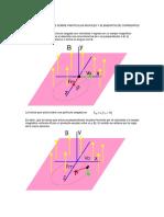 Fuerzas Magneticas sobre cargas y elementos de corriente