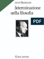 (Micromegas) Martin Heidegger-Per La Determinazione Della Filosofia-Guida (1993)