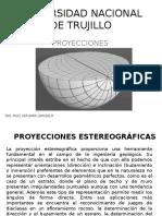 PROYECCIONES ESTEREOGRAFICAS