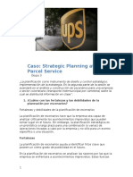 Caso- Strategic Planning at United Parcel Service