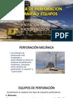 Sistema de Perforacion Mecanica y Equipos