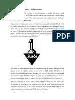 Historia de La Marca y El Logo Audi