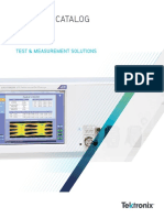 2016 Tektronix Full Line Product Catalog