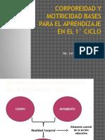 Corporeidad-motricidad Base Aprendizaje # 3