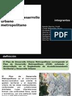 Plan de Desarrollo Urbano Metropolitano - Conde