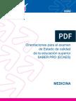 Instructivo SABER PRO Medicina 2010