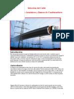 Selección Del Cable Para Filtros de Armónicos y Bancos de Condensadores