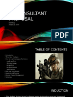 HR Consultant Proposal
