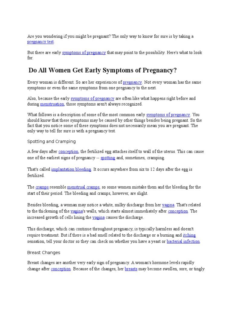 PKRS - Hamil   Symptom   Pregnancy