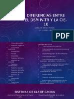 Diferencias Entre El Dsm IV-tr y La Cie-10