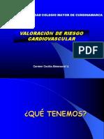 Valoraciòn de Riesgo Cardiovascular