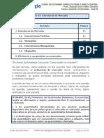 Micro Economia - Estrutura de Mercado ESTUDE ESTE.pdf