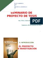 EL PROYECTO DE INVESTIGACION