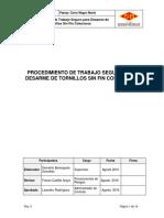 PTS 16Desarme de Tornillos Sin Fin