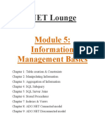 5. Information Management Basic(.NEt lounge)