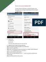 Device Firmware Update SOP V1 2