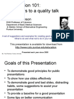 Presentation_101- Keys to a quality talk.pptx