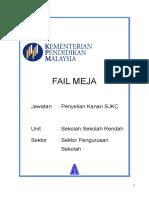 FORMAT BARU FAIL MEJA KPM 2014.docx
