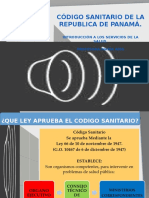 Codigo Sanitario Panama