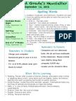newsletter template september 12