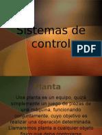 Sistemas de Control