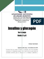 Insulina y Glucagón