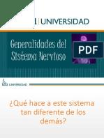 Presentación GENERALIDADES DEL SISTEMA NERVIOSO