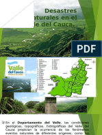 Desastres Naturales en El Valle Del Cauca