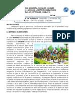 CLASE 8° - GUIA LA EMPRESA DE CONQUISTA - copia