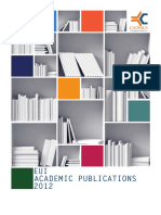 2012EUI-AcademicPublicationsDirectory