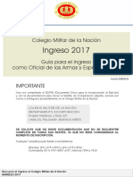 Guia de Ingreso CMN 2017 - Of Armas