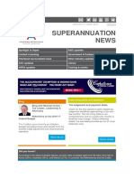 2016 Superannuation News Edition 10